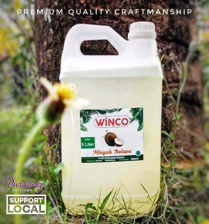Minyak Kelapa Winco 5 Liter (Grosir)