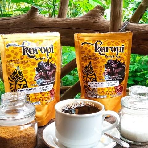 Keropi(keripik kopi)