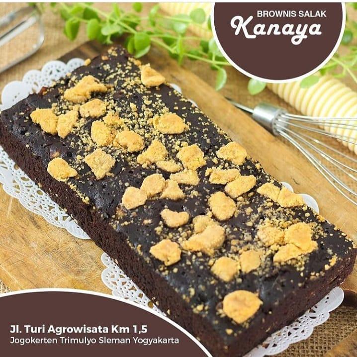 Brownies Salak Gula Semut Tepung Gluten Free