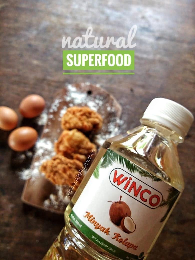 Minyak Kelapa Winco 1 Liter (eceran)