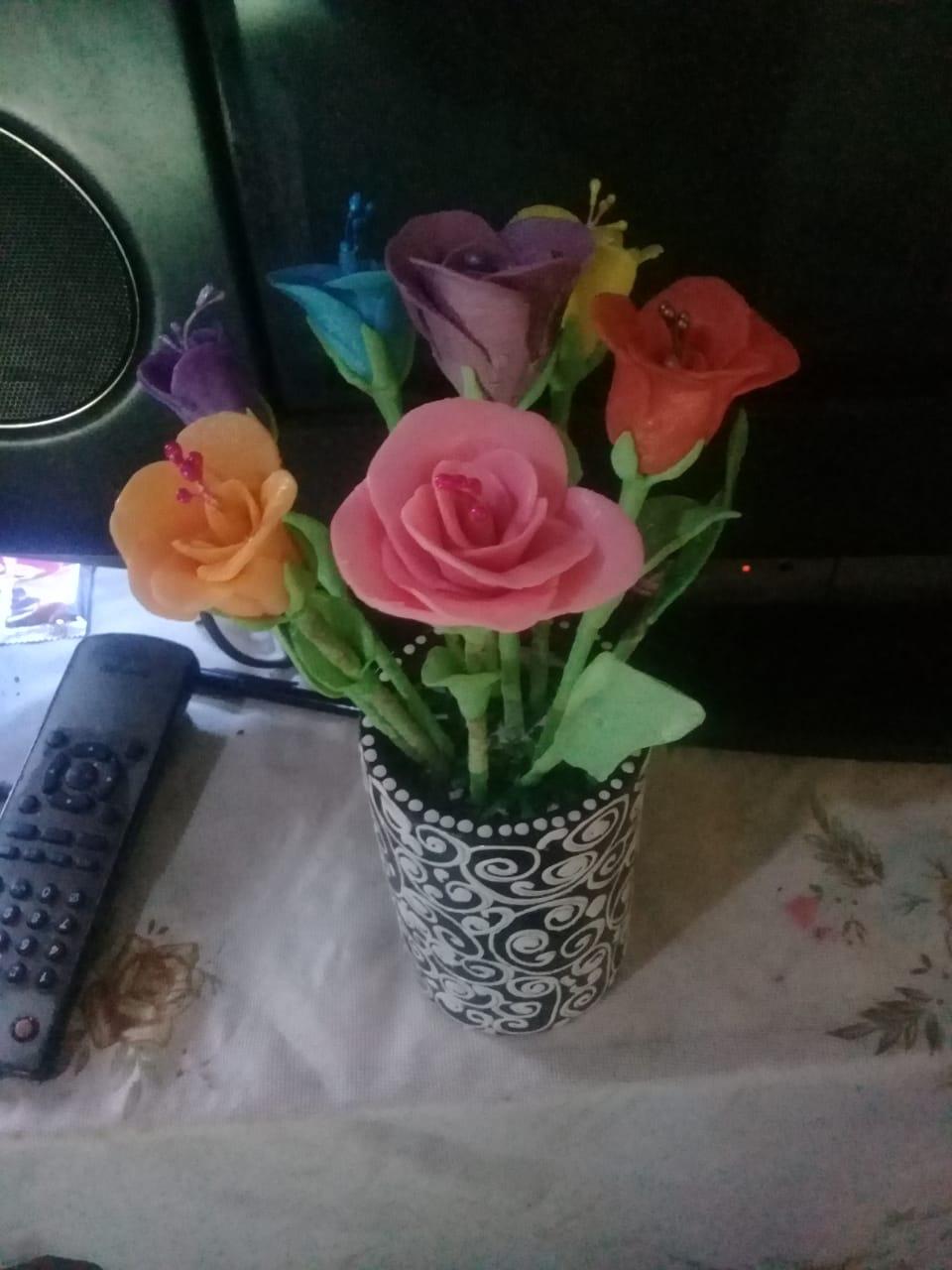 Bunga Sabun Wangi Aroma Terapi Pink
