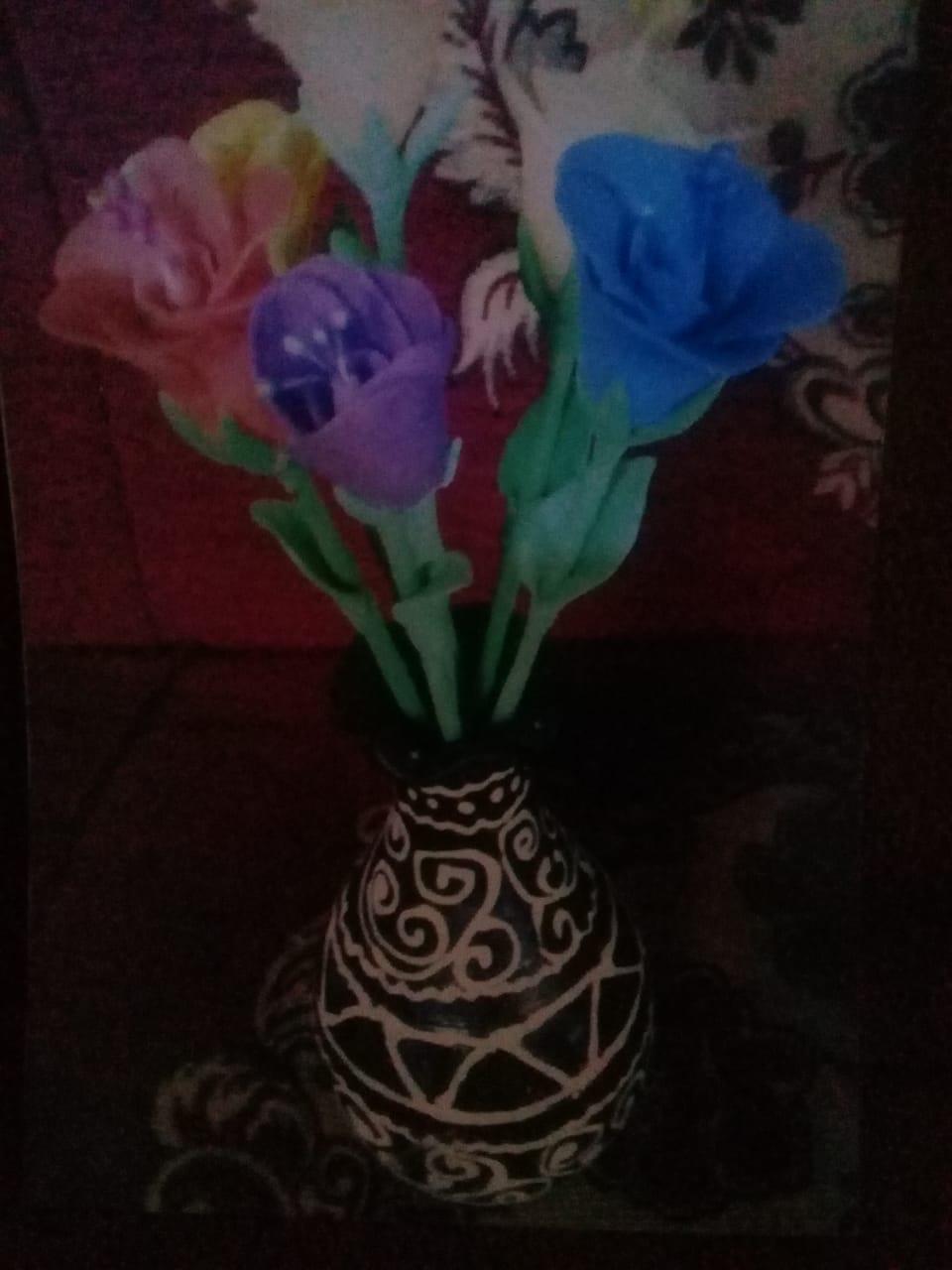 Bunga Sabun Pelangi