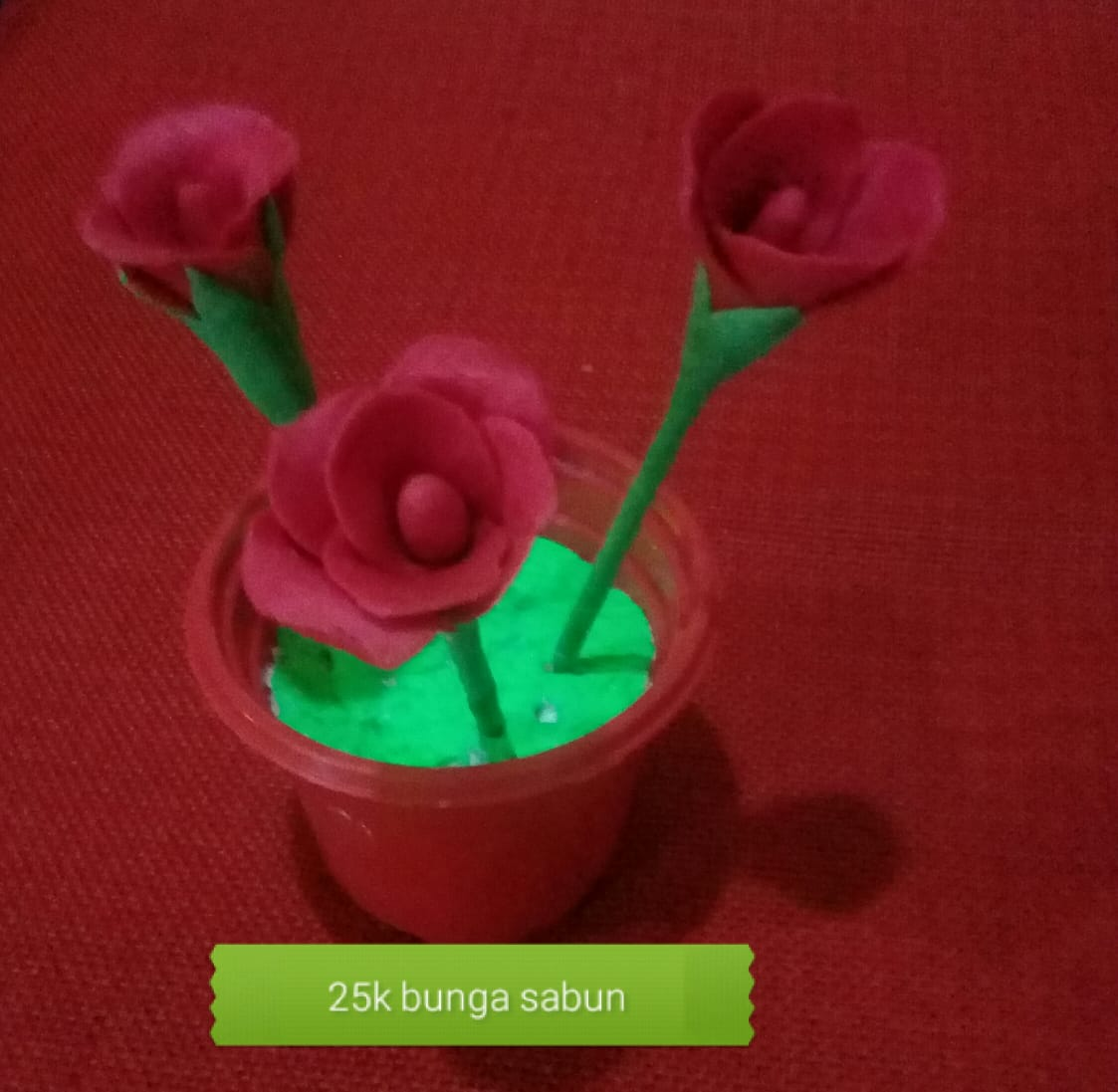 Bunga Sabun Strawberry