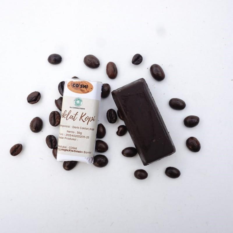 Coshi Cokelat Kopi 30 gr