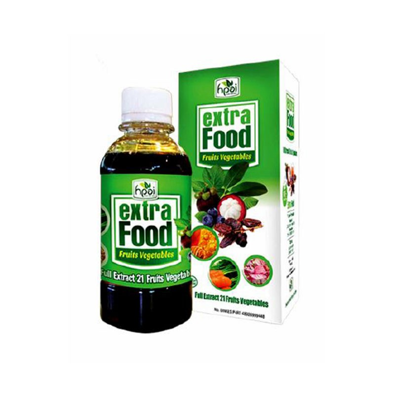Sirup HPAI Extra Food
