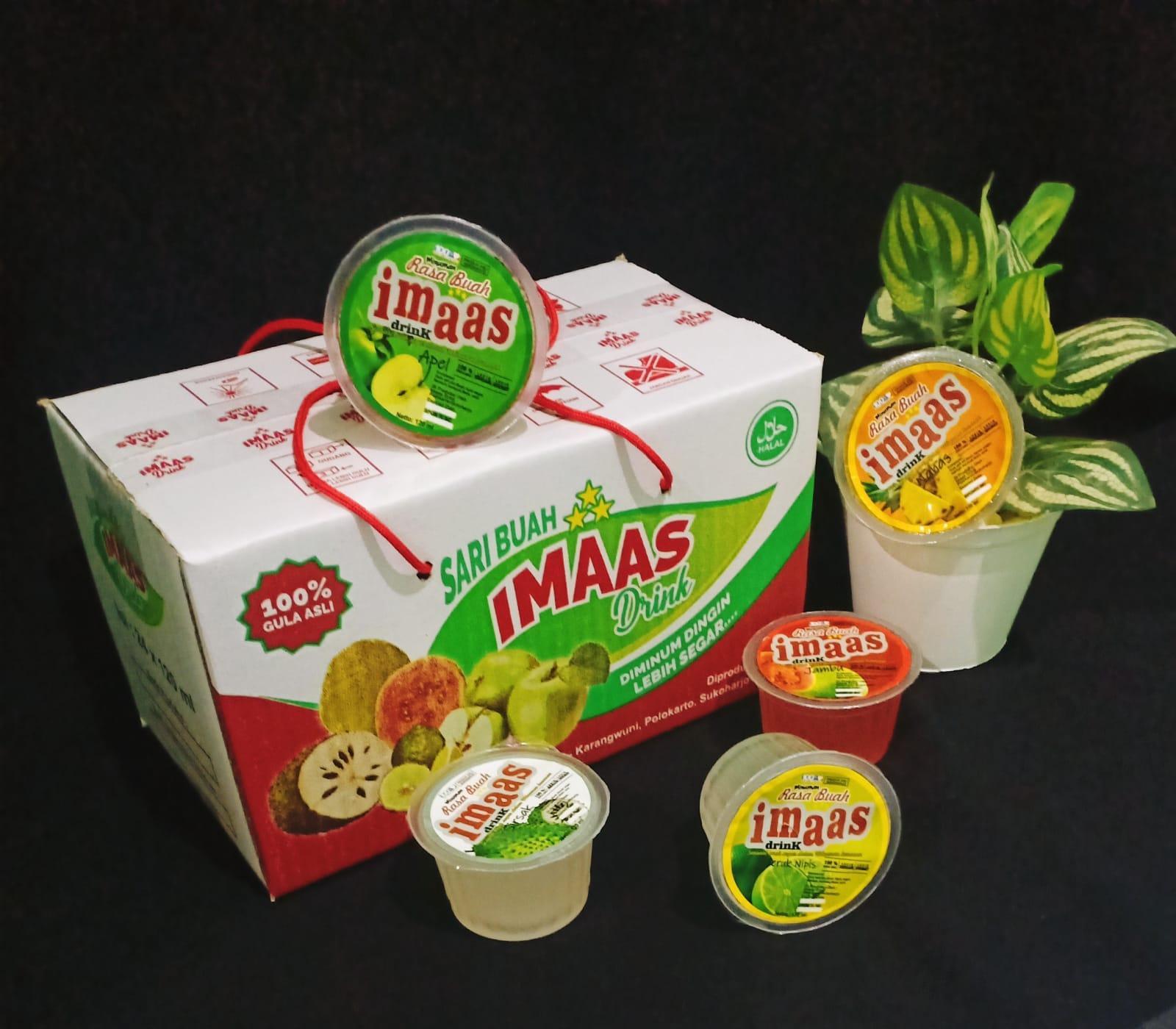 Minuman Rasa Buah Imaas Drink (24 x 120 ml)