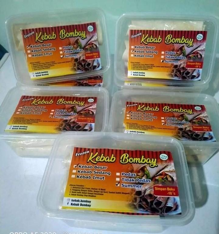 Kebab Mini Full Daging isi 12