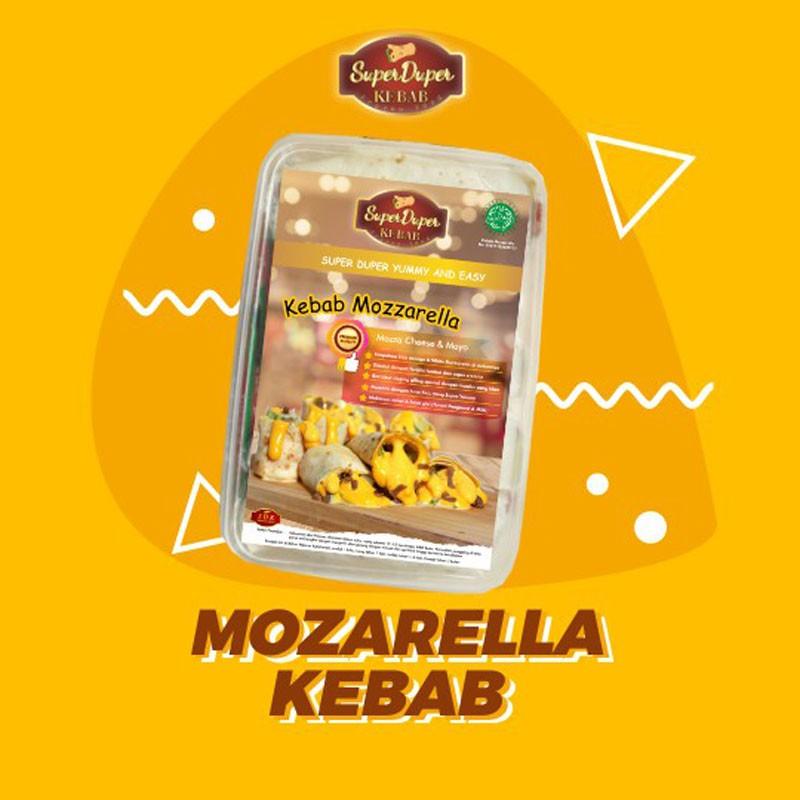 Super duper kebab mozarela