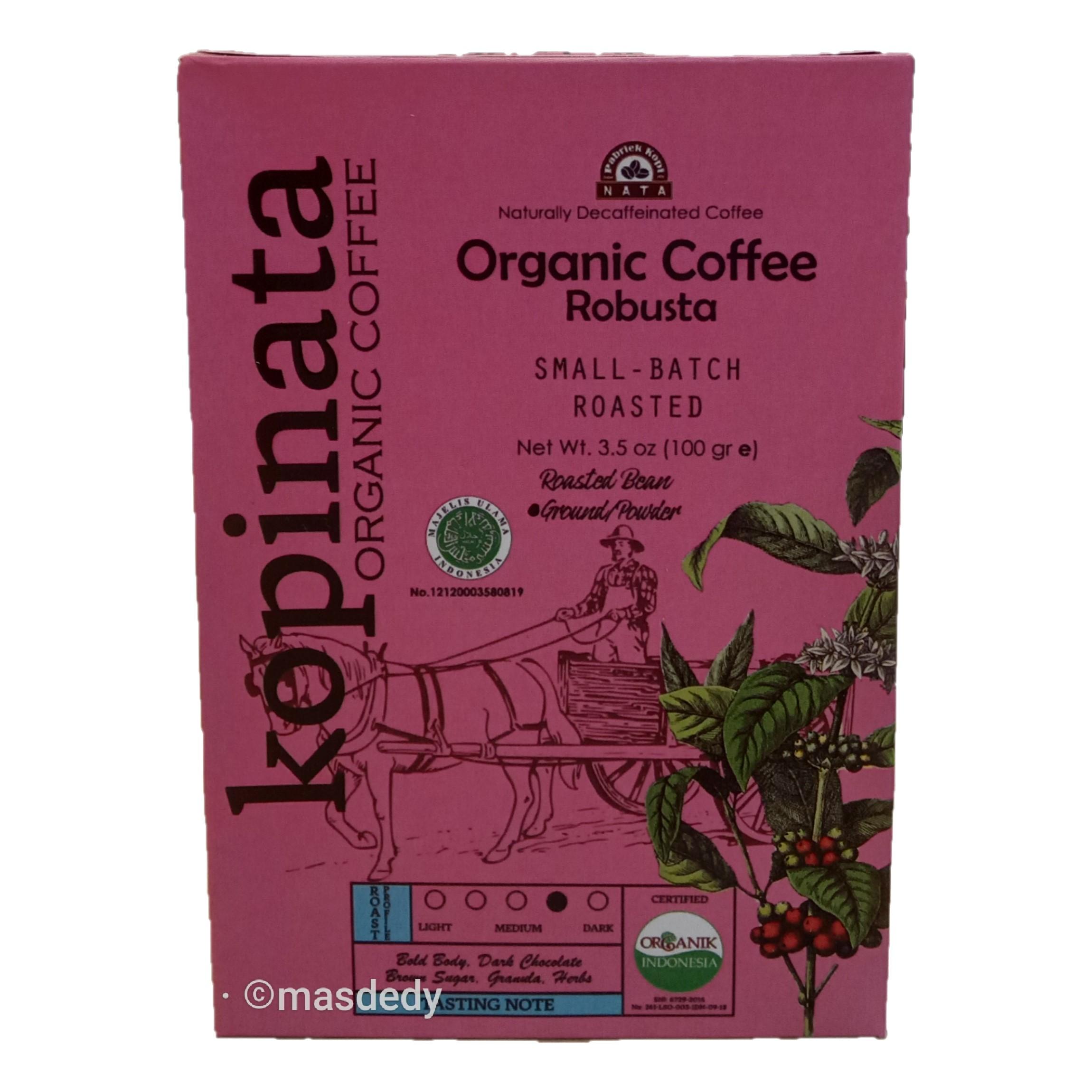 Kopinata Organic Coffee Robusta