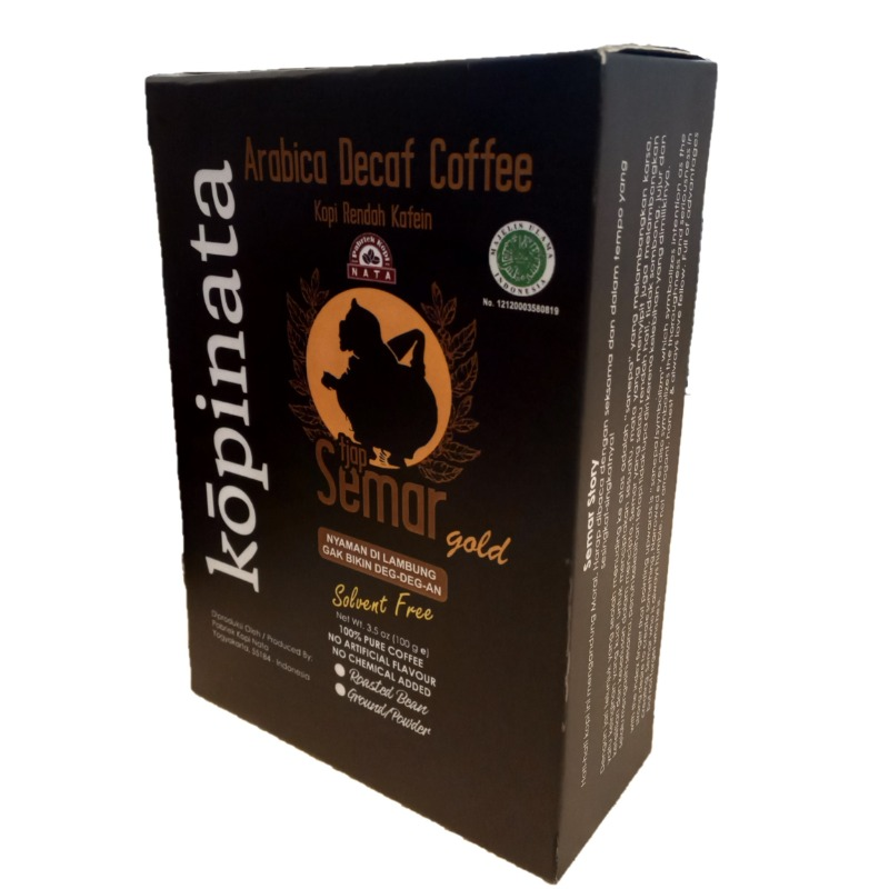 Kopinata Arabica Decaff Coffee (Semar Gold)