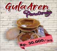 Gula Aren Premium khas Purworejo