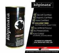 kopi arabika semar decaf rendah kafein - BIJI, CAN